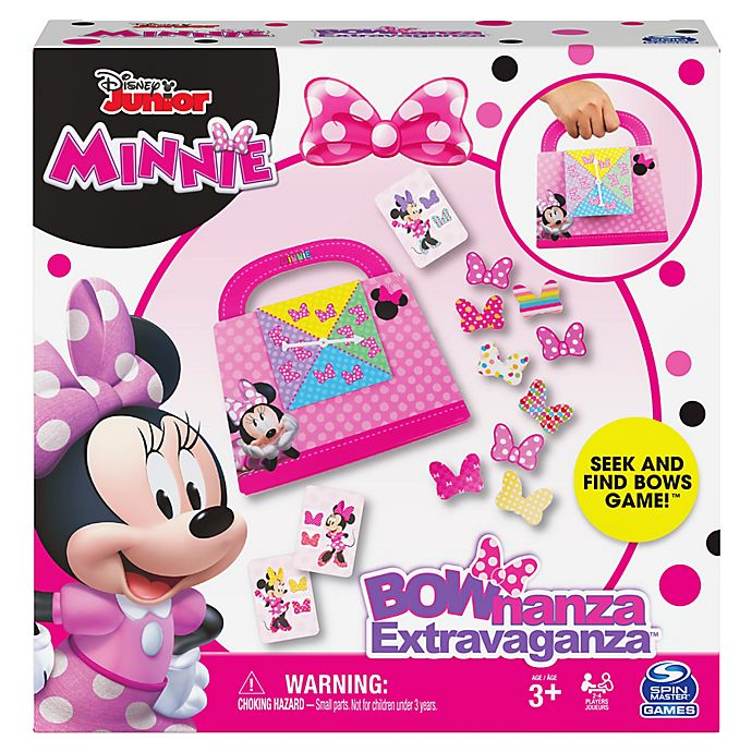 Alternate image 1 for Spin Master™ Disney Junior Minnie Bownanza Extravaganza Game