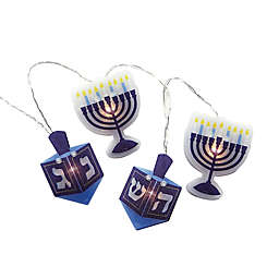 Rite Lite Battery Operated Chanukah Hologram Light Set