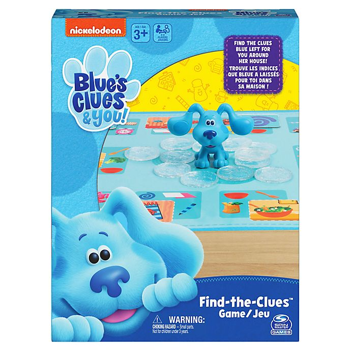 Alternate image 1 for Spin Master™ Blues Clues and You Find the Clues Game