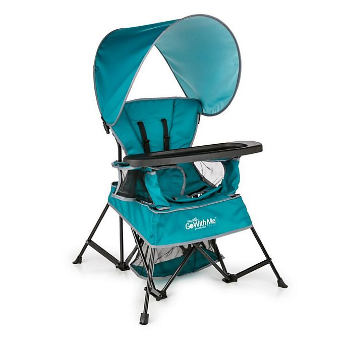 Alternate image 1 for Baby Delight® Go With Me™  Venture Portable Chair in Teal