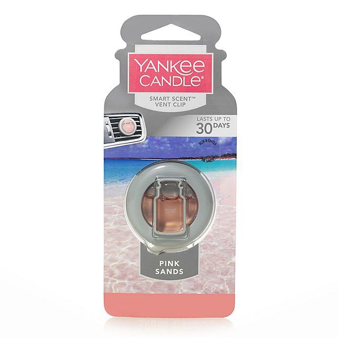 Alternate image 1 for Yankee Candle® Smart Scent™ Pink Sands Vent Clip