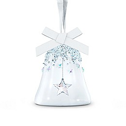 Swarovski® 3-Inch Crystal Small Star Bell Ornament in Blue