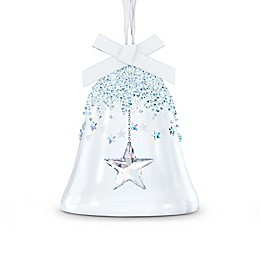 Swarovski® 3.5-Inch Large Crystal Bell Star Christmas Ornament