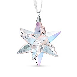 Swarovski® 1.88-Inch Crystal Medium Shimmer Star Christmas Ornament