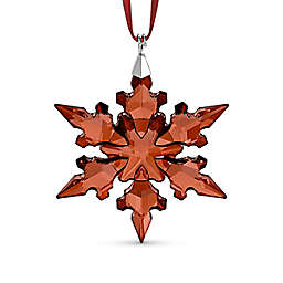 Swarovski® 1.88-Inch Crystal Small Holiday Ornament in Red