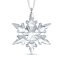 Swarovski® 1.88-Inch Crystal Little Snowflake Christmas Ornament in White