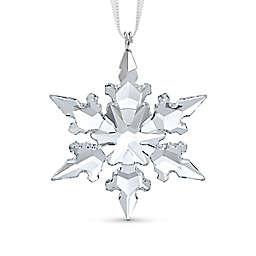 Swarovski® 1.88-Inch Crystal Little Snowflake Christmas Ornament in White