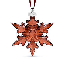 Swarovski® 2.5-Inch Annual Edition Crystal Star Holiday Ornament in Red