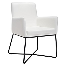 Zuo® Modern Axel Lounge Chair in White