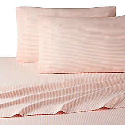UGG® Devon Polyester 200-Thread-Count Standard/Queen Pillowcases in Blush Sunset Stripe