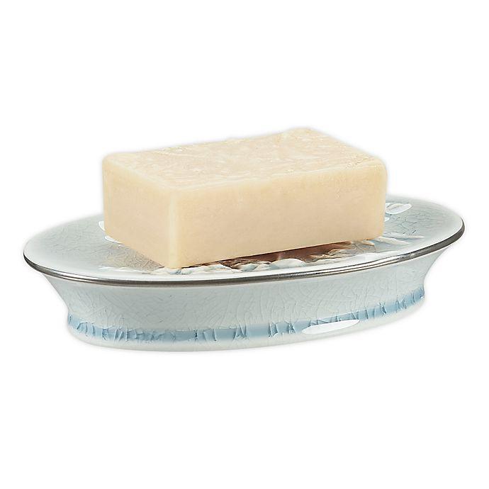 Alternate image 1 for Wamsutta® Margate Soap Dish in Illusion Blue