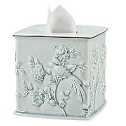 Wamsutta® Margate Boutique Tissue Box Cover in Illusion Blue