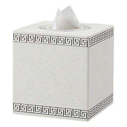 Wamsutta® Sheffield Boutique Tissue Box Cover in Peyote