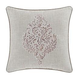 J. Queen New York™ Angeline Square Throw Pillow in Beige