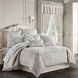 J. Queen New York™ Angeline 4-Piece California King Comforter Set in Beige