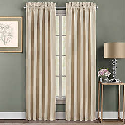 J. Queen New York™ Palm Sand 2-Pack 84-Inch Rod Pocket Window Curtain Panels in Sand