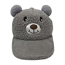 Tiny Treasures™ Newborn Sherpa Bear Cap in Grey