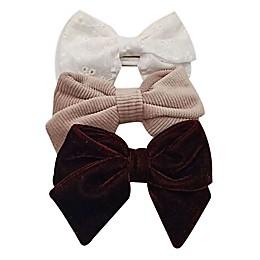 Tiny Treasures™ 3-Pack Mixed Novelty Bow Headbands