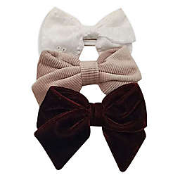 Tiny Treasures™ 3-Pack Mixed Novelty Bow Headbands