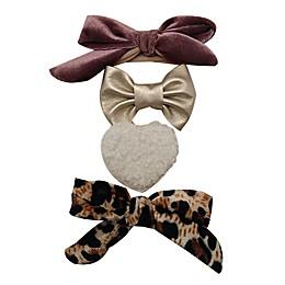 Tiny Treasures™ 4-Pack Mixed Novelty Bow Headbands