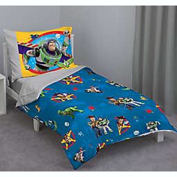 Disney® Toy Story 4 4-Piece Toddler Bed Set in Blue