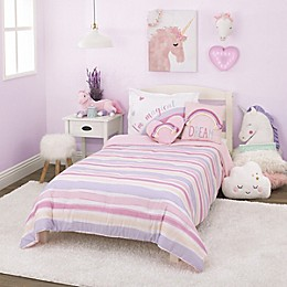 NoJo® Watercolor Rainbow Bedding Collection