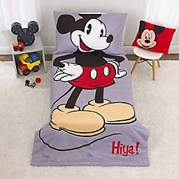 Disney® Mickey Mouse 4-Piece Toddler Bedding Set in Grey