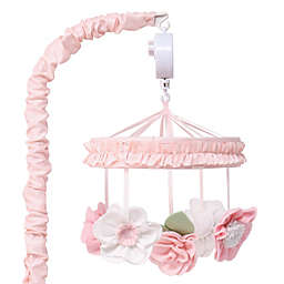 The Peanutshell™ Brianna Musical Mobile in Pink/White