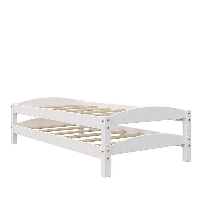 Alternate image 1 for Dorel Living® Tayson Twin Over Twin Bunk Bed in White