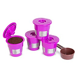Perfect Pod Café Fill 4-Pack Reusable Filters in Purple
