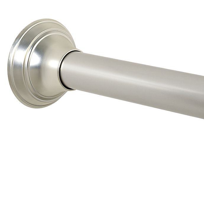 Alternate image 1 for TITAN® NeverRust® 72-Inch Aluminum Decorative Tension Rod in Nickel