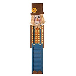 Glitzhome® 42-Inch Scarecrow Porch Sign in Orange