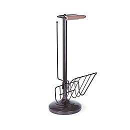 Better Living Toilet Tissue Stand Combo in Oil Rubbed Bronze