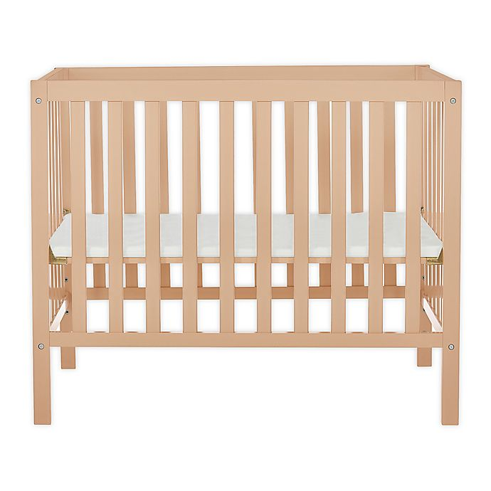 Alternate image 1 for Dream On Me Edgewood 4-in-1 Convertible Mini Crib