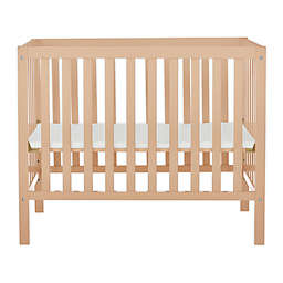 Dream On Me Edgewood 4-in-1 Convertible Mini Crib in Ivory/Cream