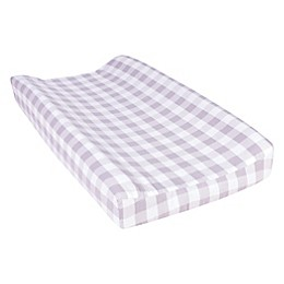 Trend Lab® Buffalo Check Flannel Changing Pad Cover in Grey