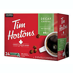 Tim Hortons® Decaffeinated Coffee Pods for Single Serve Coffee Makers 24-Count