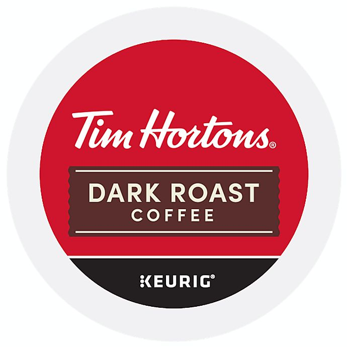 Alternate image 1 for Tim Hortons® Dark Roast Coffee Pods for Single Serve Coffee Makers 24-Count