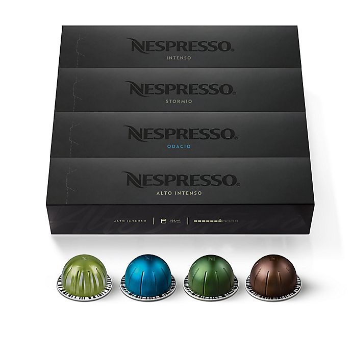 Alternate image 1 for Nespresso® VertuoLine Assorted Dark Roast Pack Coffee Capsules 40-Count