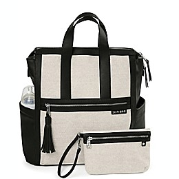 SKIP*HOP® Sutton Diaper Backpack in Black