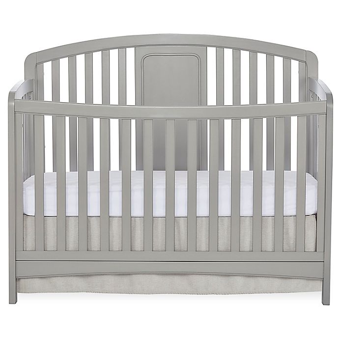 Alternate image 1 for Sweetpea Baby Arc 4-in-1 Convertible Crib
