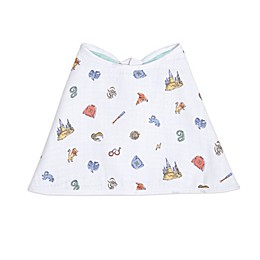aden + anais essentials® Harry Potter™ Hogwarts Burpy Bib in Grey
