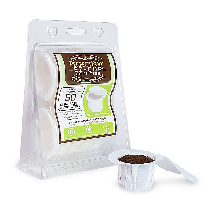 Alternate image 1 for Perfect Pod EZ-Cup Filters (Set of 50)