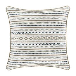 J. Queen New York™ Waterbury 20-Inch Square Throw Pillow in Spa