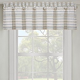 J. Queen New York™ Waterbury Straight Window Valance in Spa
