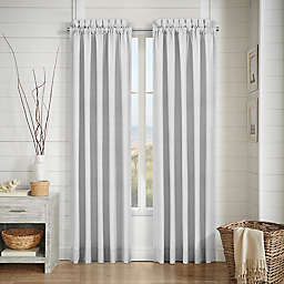 J. Queen New York™ Shore 2-Pack 84-Inch Rod Pocket Window Curtain Panels in Navy