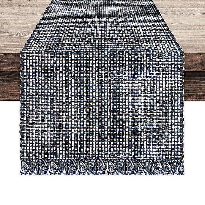 Alternate image 1 for Homewear Homespun Square Table Runner