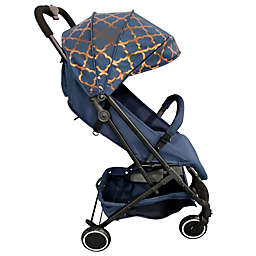 Your Babiie MAWMA By Snooki Soho Compact Travel Stroller in Navy