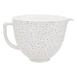 KitchenAid® 5 qt. Confetti Sprinkle Ceramic Bowl