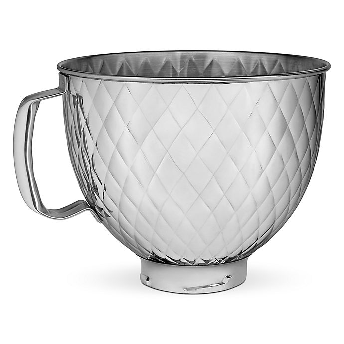Alternate image 1 for KitchenAid® 5 qt. Quilted Stainless Steel Bowl